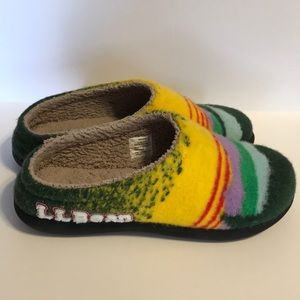 L L Bean Day Break Scuffs Sz 9 Katahdin Sunrise